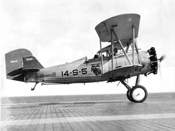 The first 'marine' Vought Corsair