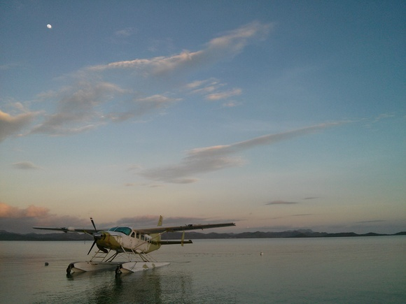 Seaplane in the Philippines, by Eric Brill