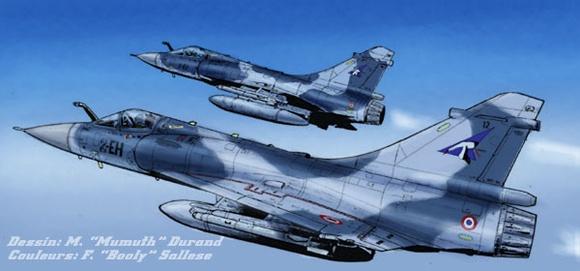Mirage2000 2Colors