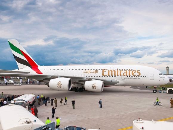 Emirates A380 Makes Longest Non-Stop Flight