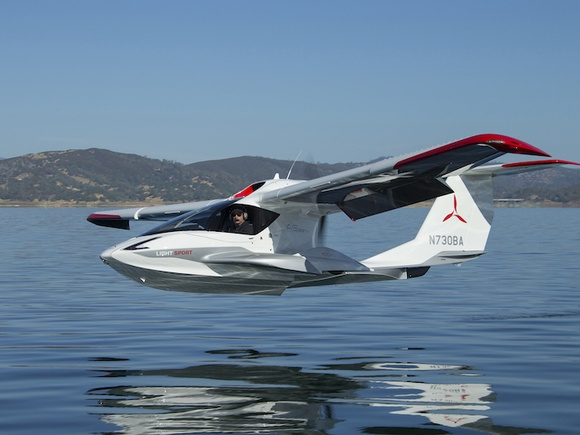 Flying Icon's A5 LSA seaplane