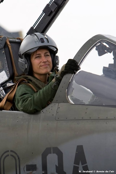 Photo - Squadron Leader Anne-Laure Michel, French Air Force